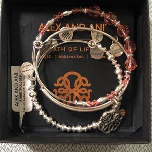 Alex and Ani 'Path of Life' Bracelets